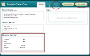 Bidsketch Client Details