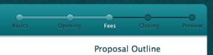 Proposal Progress