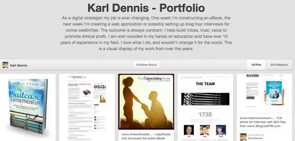 Karl Dennis portfolio