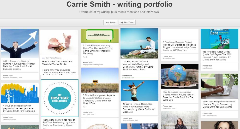 CS portfolio example