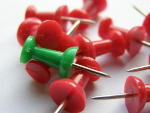 stand out pins