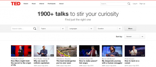 Browse Talks TED.com