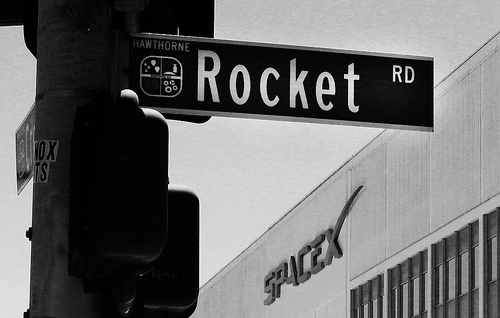 spacex rocket road