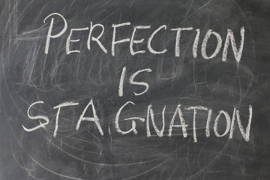 avoid perfectionism