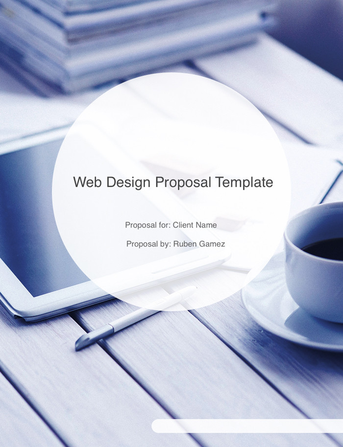 Web Design Proposal Template (With Retainer)